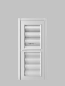 Жалюзийная дверь 4