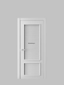 Жалюзийная дверь 2