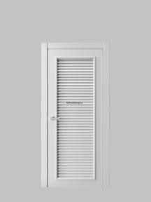 Жалюзийная дверь 1